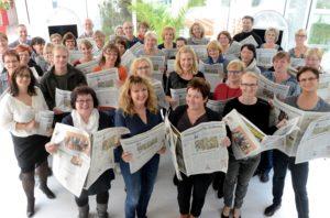 Auftaktveranstaltung von Zeitung in der Schule der Mitteldeutschen Zeitung im H+ Hotel Peißen